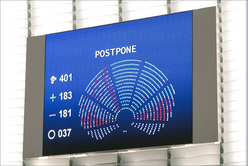 TTIP Vote Postpone