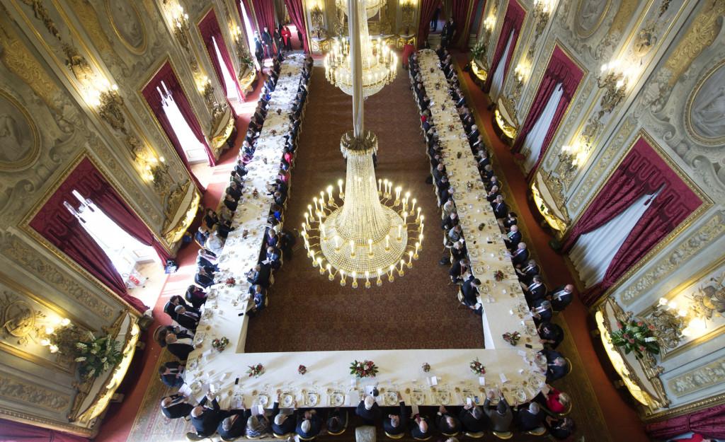 Πανοραμικό πλάνο από το γεύμα των προέδρων των Ευρωπαϊκών Κοινοβουλίων
